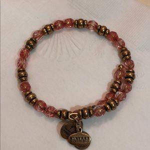 Alex and Ani wrap around bracelet